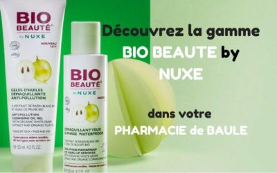 Nouvelle gamme BIO BEAUTE by NUXE !